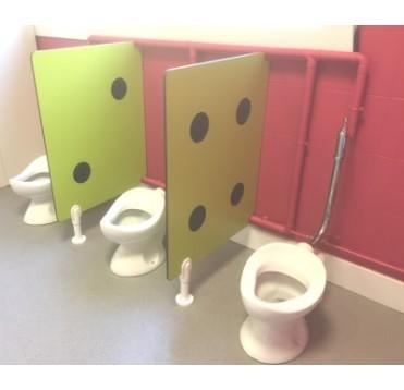 """Cloisonnette WC """"Dé"""""""
