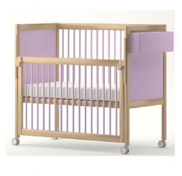 Lit simple barri re coulissante avec roulettes lits - Lit bebe barriere coulissante ...