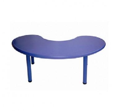 Table en polypropyl ne en forme de u tables eveil for Table 5 en 1