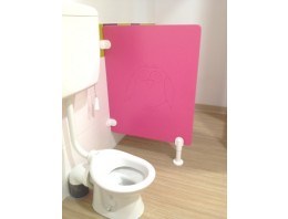 Cloisonnette WC avec Gravure