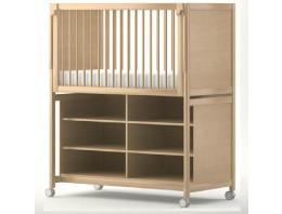 Rangement pour lit (6 casiers)