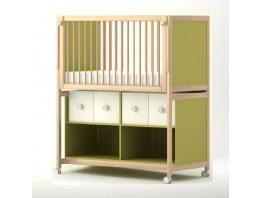 Rangement pour lit (4 casiers)