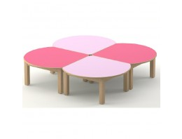 Table bouton d'or